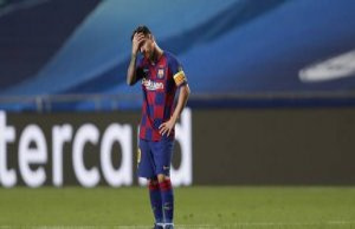 Champions league : FC Barcelona, més that a defeat...