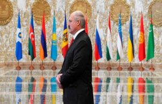 Election in Belarus : president alexander Lukashenko...