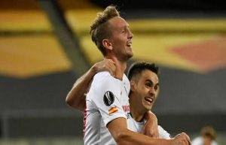 Europa league : Seville departs Manchester United...