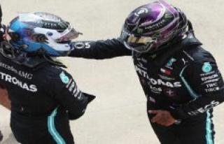 F1 Silverstone 2020: Bottas cracks Hamilton, Sensation...