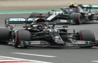 Formula 1. So you see the 70. Anniversary GP live...