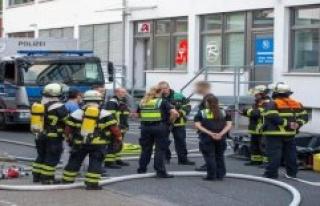 Hamburg: Explosive Picric acid shopping centre part...