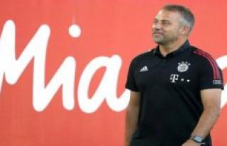Hansi Flick, missed Bayern's last finishing touches...