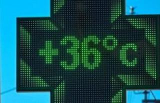 Heat wave : Météo-France place 45 departments in...