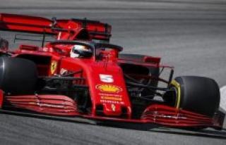 Sebastian Vettel: A little lighter than the past few...