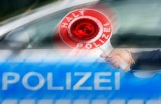 The police headquarters of Neubrandenburg: traffic...