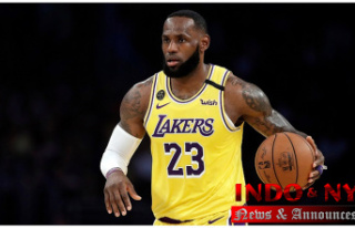 LeBron James of Los Angeles Lakers to sign Agreement...