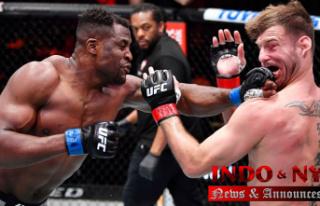 Francis Ngannou wins UFC heavyweight title,'Prepared...