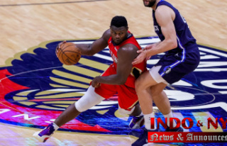New Orleans Pelicans' Zion Williamson'an...