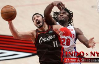 Enes Kanter sets Portland Trail Blazers' record...