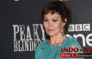'Peaky Blinders' Celebrity Helen McCrory...