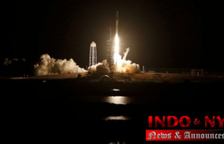 SpaceX Starts 4 astronauts to ISS on recycled Capsule...
