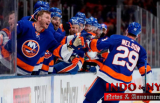 Nelson Assists Islanders beat Penguins 5-3 to reach...