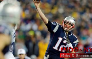 Soccer from Tom Brady's first NFL touchdown pass...