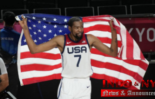 Again, it's golden: The USA beats France 87-82...