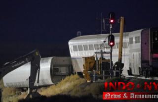 Investigators investigate Montana train crash that...