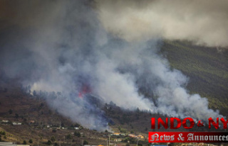 Volcano explodes on Atlantic Island; some homes are...