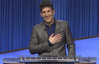 """Matt Amodio's historic run on TV's """"Jeopardy!""""..."""