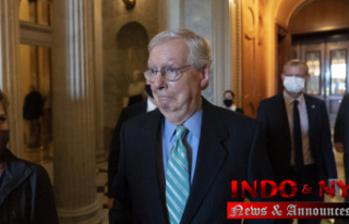 McConnell seizes on debt standoff to undermine Biden...
