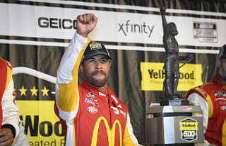 Milestone for Bubba Wallace: He earns his 1st NASCAR...