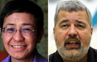 Nobel Peace Prize for Journalists Maria Ressa &...