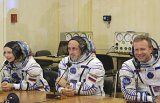Russian film crew to orbit for first movie shot in...
