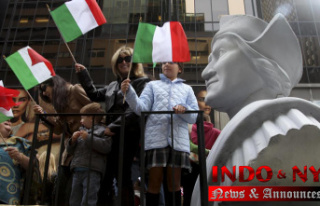 Tensions remain between native people and Columbus'...