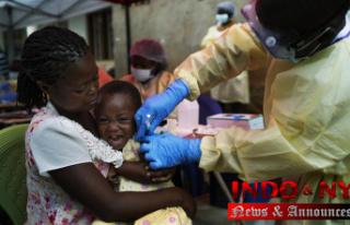 UN starts vaccinating people against Ebola in Congo