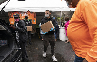 While Americans are less likely to turn to food banks,...