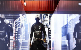 F1 GP of spain : the supremacy of the man in black : | Auto