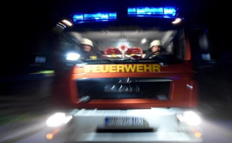 Mörfelden-Walldorf: on-site inspection after a fire at the Frankfurt airport