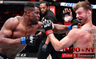 Francis Ngannou wins UFC heavyweight title,'Prepared any Moment' to Get Jon Jones