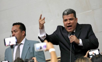 U.S. punishes Luis Parra and six other mps by the controversial election in the National Assembly