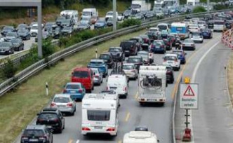 Vacationers should expect on the weekend with traffic jams | travel