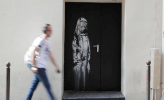 Banksy stolen at the Bataclan : italy renders the work to France - The Point