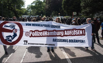 Hamburg: G20-riot on Elbchaussee: Demonstration against judgments
