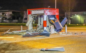 Wiesbaden: number of ATM explosions decreased significantly