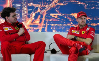 Ferrari team boss Binotto denied Sabotage rumour, and breaks a lance for Vettel