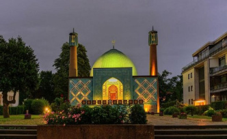 From which German mosque a world has been attacked makes?