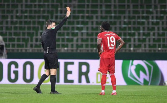 New rule for football: When a deliberate cough from the Ref whips out the Red card