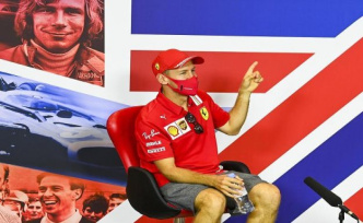 Silverstone: Vettel: In a way, decision made
