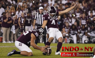 Texas A&M beats No. 1 Alabama 41-38 on last-play field goal
