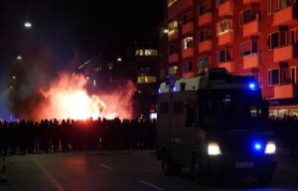 All arrested after fodbolduro is released