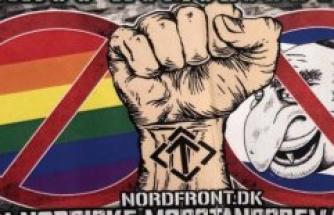 Synagogue subjected to nazi vandalism