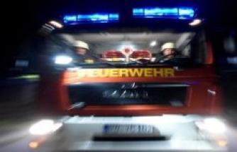 Gotha: 75 000 Euro damage to a vehicle fire in Gotha