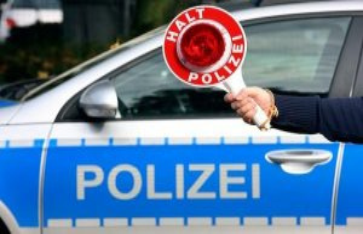 Police Coesfeld: Lüdinghausen, bus stop Soddemann/ shield damage
