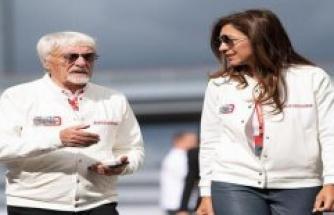 Birth at a record pace: Bernie Ecclestone with 89 again dad!