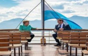 Photo to follow: What is Angela Merkel's visit to Markus Söder