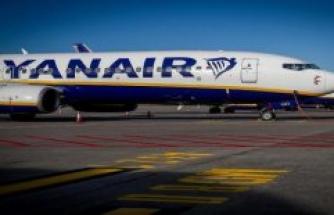 Ryanair-machine due to a bomb threat emergency landing - police arrest two men