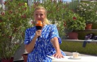 ZDF-Fernsehgarten: Twitter users mock, Andrea Kiewel - she posts a rare private image in Bikini